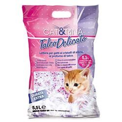 CAT&RINA TALCO DELICATO-LETTIERA SILICIO 5,5L