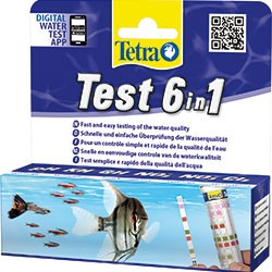 TETRA TEST STRISCE 6 IN 1 - 25 TEST