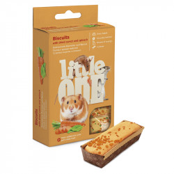 LITTLE ONE 5 BISCOTTI PICCOLI ANIMALI-CAROTE 7 G