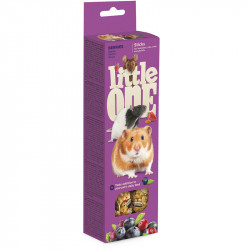 LITTLE ONE 2 STICK CRICETI,RATTI,TOPOLINI,GERBILLI,BACCHE 60 G