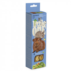 LITTLE ONE 2 STICK CAVIE,CONIGLI,CINCILLA',VEGETALI 60 G
