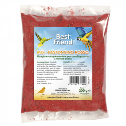 MIX PASTONCINO ROSSO BEST FRIEND 200 GR